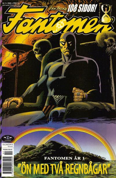 Cover for Fantomen (Egmont, 1997 series) #2/2005