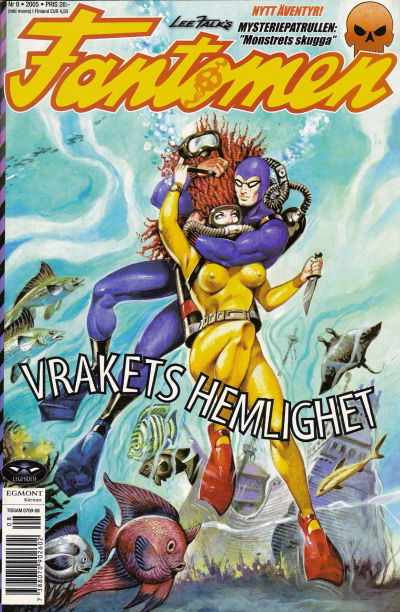 Cover for Fantomen (Egmont, 1997 series) #8/2005