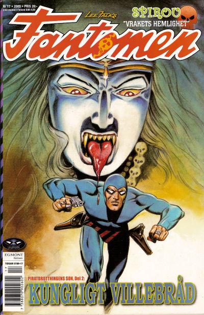 Cover for Fantomen (Egmont, 1997 series) #17/2005