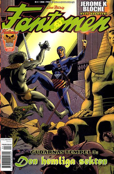 Cover for Fantomen (Egmont, 1997 series) #4/2006