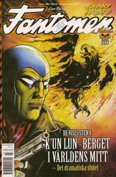 Cover for Fantomen (Egmont, 1997 series) #23/2006