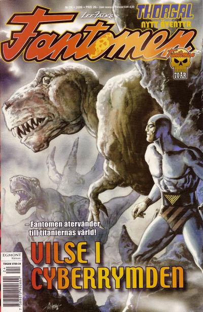 Cover for Fantomen (Egmont, 1997 series) #24/2006