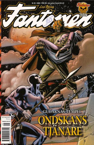 Cover for Fantomen (Egmont, 1997 series) #25/2006