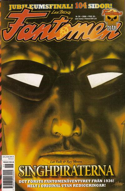 Cover for Fantomen (Egmont, 1997 series) #26/2006
