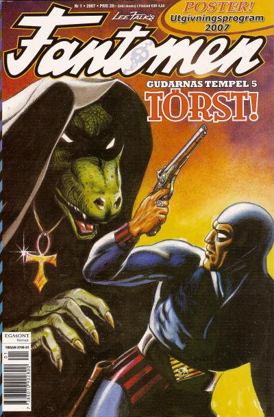 Cover for Fantomen (Egmont, 1997 series) #1/2007