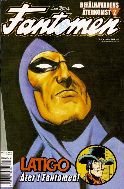 Cover for Fantomen (Egmont, 1997 series) #5/2007