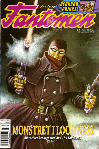 Cover for Fantomen (Egmont, 1997 series) #7/2007