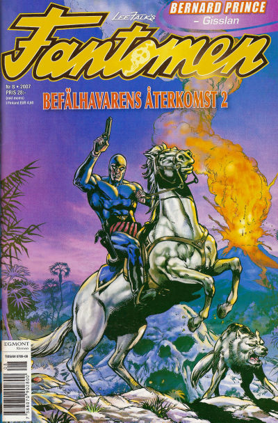 Cover for Fantomen (Egmont, 1997 series) #8/2007