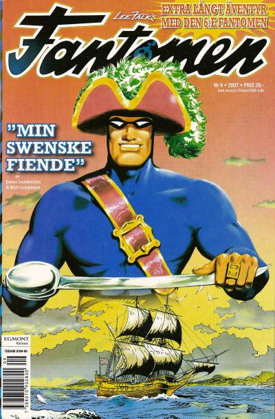 Cover for Fantomen (Egmont, 1997 series) #9/2007