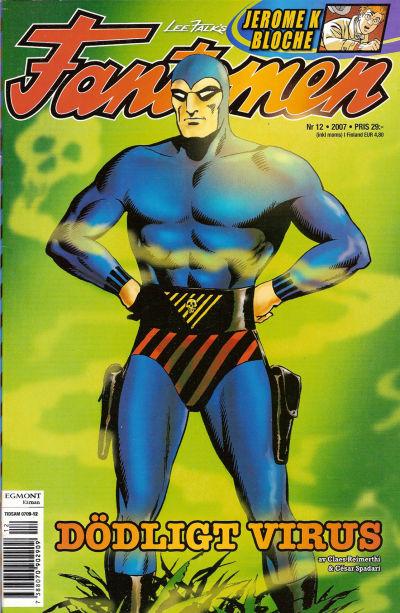 Cover for Fantomen (Egmont, 1997 series) #12/2007