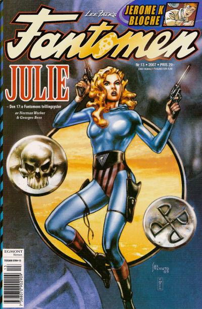 Cover for Fantomen (Egmont, 1997 series) #13/2007