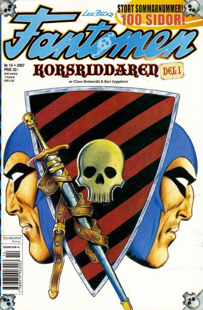 Cover for Fantomen (Egmont, 1997 series) #14/2007