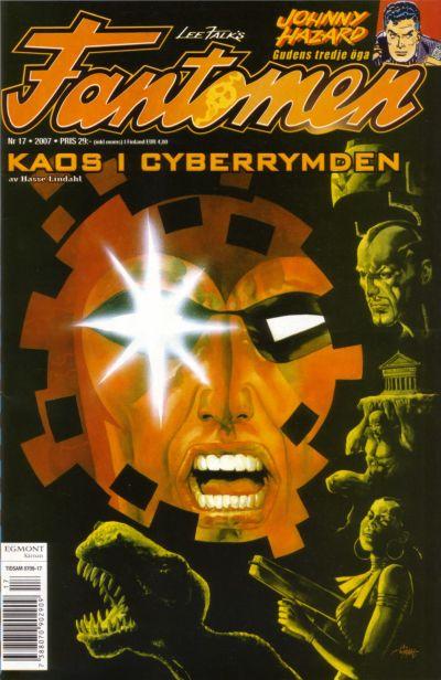Cover for Fantomen (Egmont, 1997 series) #17/2007