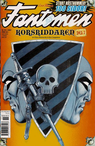 Cover for Fantomen (Egmont, 1997 series) #18/2007