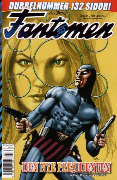 Cover for Fantomen (Egmont, 1997 series) #22-23/2007