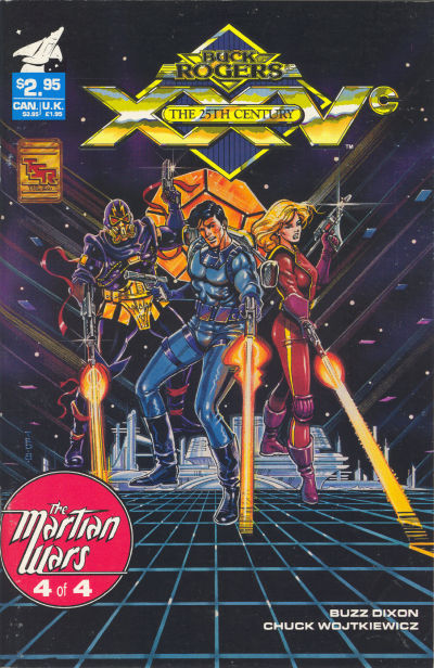 Cover for Buck Rogers Comics Module (TSR, 1990 series) #10