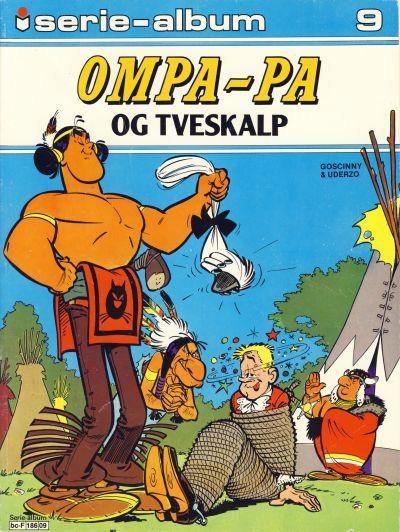 Cover for Serie-album (Semic, 1982 series) #9 - Ompa-Pa og Tveskalp