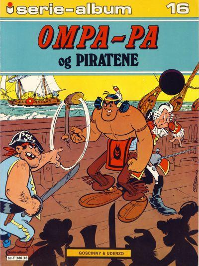 Cover for Serie-album (Semic, 1982 series) #16 - Ompa-Pa og piratene