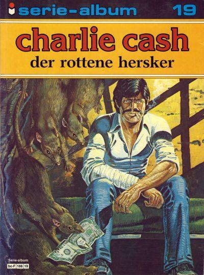 Cover for Serie-album (Semic, 1982 series) #19 - Charlie Cash - Der rottene hersker