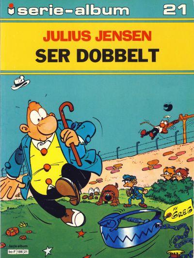 Cover for Serie-album (Semic, 1982 series) #21 - Julius Jensen ser dobbelt