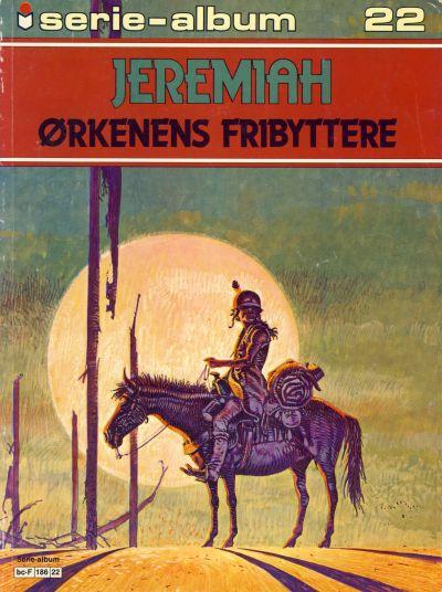 Cover for Serie-album (Semic, 1982 series) #22 - Jeremiah Ørkenens fribyttere