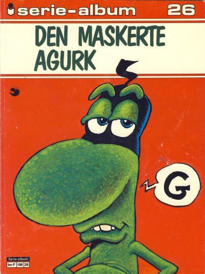 Cover for Serie-album (Semic, 1982 series) #26 - Den maskerte agurk