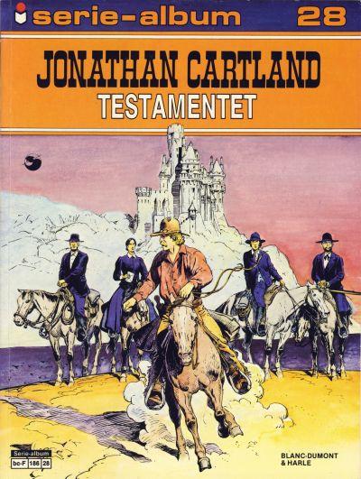 Cover for Serie-album (Semic, 1982 series) #28 - Jonathan Cartland - Testamentet