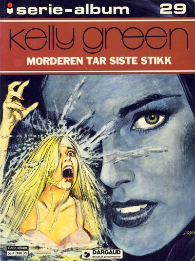 Cover for Serie-album (Semic, 1982 series) #29 - Kelly Green Morderen tar siste stikk