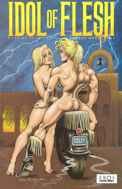 Cover for Idol of Flesh (Fantagraphics, 1993 series) #1