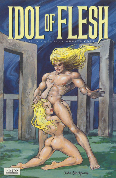 Cover for Idol of Flesh (Fantagraphics, 1993 series) #2