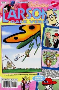 Cover Thumbnail for Larsons gale verden (Bladkompaniet / Schibsted, 1992 series) #2/2005