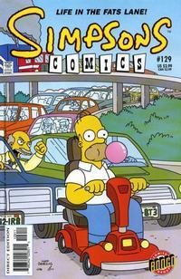 Cover Thumbnail for Simpsons Comics (Bongo, 1993 series) #129