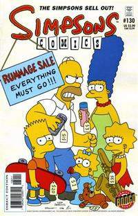 Cover Thumbnail for Simpsons Comics (Bongo, 1993 series) #130