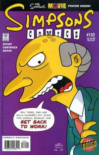 Cover Thumbnail for Simpsons Comics (Bongo, 1993 series) #132