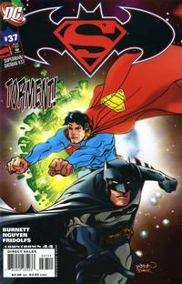 Cover Thumbnail for Superman / Batman (DC, 2003 series) #37 [Nguyen and Fridolfs]