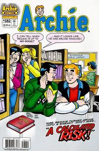 Cover for Archie (Archie, 1959 series) #582