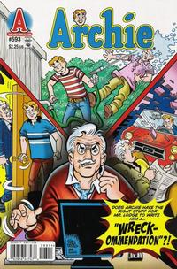 Cover Thumbnail for Archie (Archie, 1959 series) #593