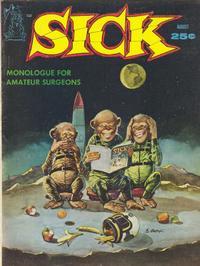 Cover for Sick (Prize, 1960 series) #v2#1 [7]