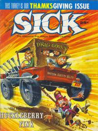 Cover Thumbnail for Sick (Prize, 1960 series) #32
