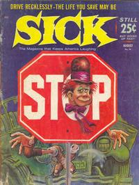 Cover Thumbnail for Sick (Prize, 1960 series) #38