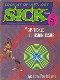 Cover Thumbnail for Sick (Prize, 1960 series) #39