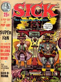 Cover Thumbnail for Sick (Prize, 1960 series) #42