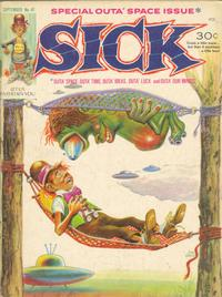 Cover Thumbnail for Sick (Prize, 1960 series) #47