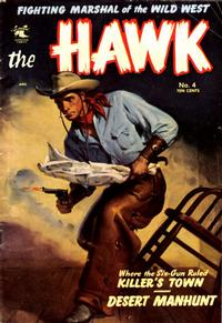 Cover Thumbnail for The Hawk (St. John, 1953 series) #4