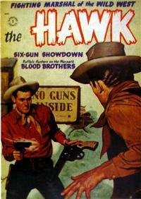 Cover Thumbnail for The Hawk (St. John, 1953 series) #5