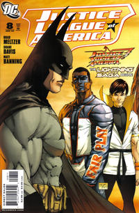 Cover Thumbnail for Justice League of America (DC, 2006 series) #8 [Standard Cover]