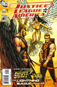 Cover Thumbnail for Justice League of America (DC, 2006 series) #9 [Michael Turner Cover]