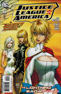 Cover Thumbnail for Justice League of America (DC, 2006 series) #10 [Standard Cover]