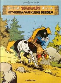 Cover for Yakari (Casterman, 1977 series) #6 - Het geheim van Kleine Bliksem