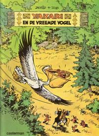 Cover Thumbnail for Yakari (Casterman, 1977 series) #7 - Yakari en de vreemde vogel